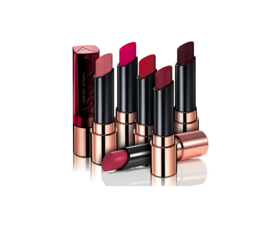 Astor Fabulous Lipstick Berry Matte Collection
