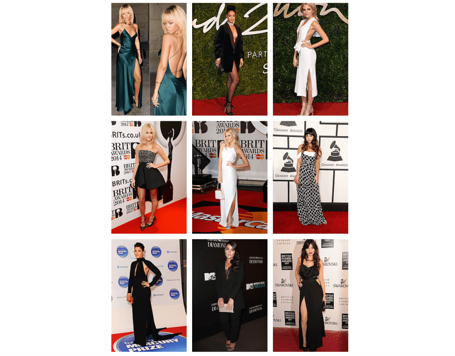 Red Carpet Looks by Avigail Collins