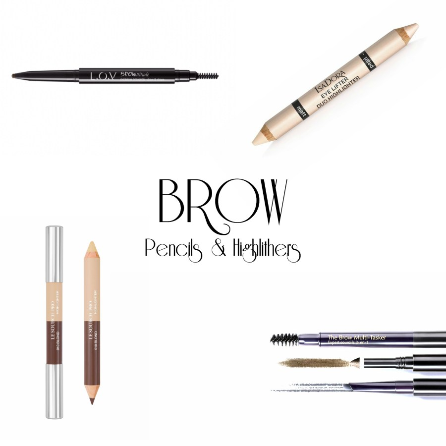 Brow Pencils and Highlighters