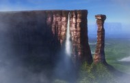 Chavez seeks to rename Venezuela's Angel Falls - Paradise Falls from UP
