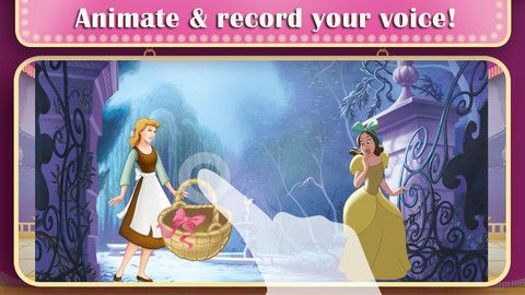 Disney Princess Story Theater app