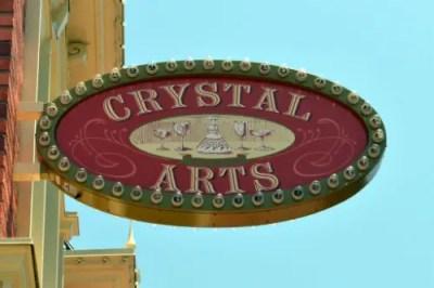 Crystal Arts sign