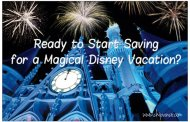 Disney Vacation Account: Savings Program Lets You Plan and Save Now for Future Dream Trips With Disney