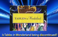 Is Tables in Wonderland being discontinued?