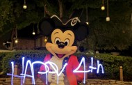 Fourth of July Light-Painting Video Magic at Walt Disney World Resort