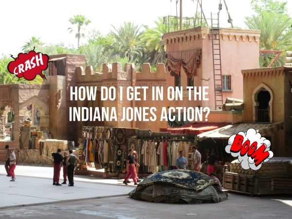 How Do You Get Picked for the Indiana Jones Stunt Spectacular?