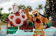 Disney Cruise Line Releases Very Merrytime Cruise Details