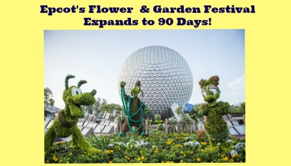 Epcot's Flower & Garden Festival Expands to 90 Days in 2016