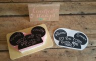 Disney Find- Whimsical Hand Carved Rubber Stamps