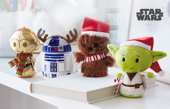 The Force Awakens with Christmas Star Wars Itty Bitty Toys from Hallmark