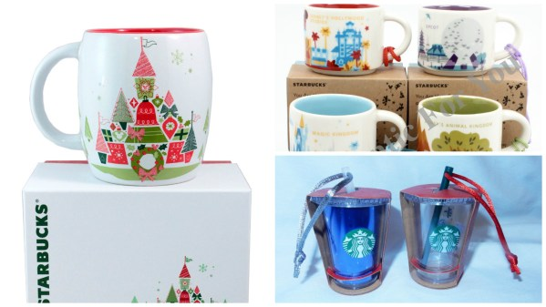 Starbucks Released New Christmas Collection at Disney World and Disneyland