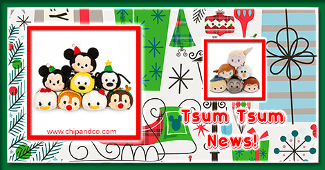 Spotted: Christmas and Frozen Tsum Tsums at Target