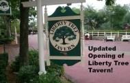 Update to the November WDW Refurbishment Schedule: Liberty Tree Tavern