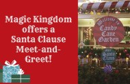 Magic Kingdom Offers Santa Clause Meet and Greet