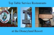 Top 10 Best Table Service Restaurants at the Disneyland Resort