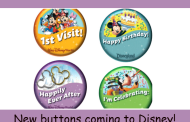 Disney is changing the look of their free buttons