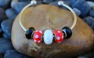 Fun Handmade Mickey Mouse Inspired Bracelets