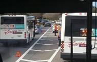 Bus accident outside Disney's Animal Kingdom Lodge
