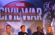 Captain America: Civil War Press Conference - Team Iron Man