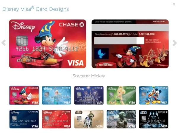 Visa Card Design Options
