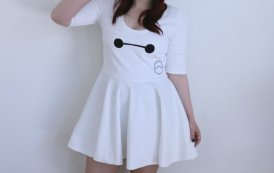 Be a Hero in this Adorable Baymax Dress