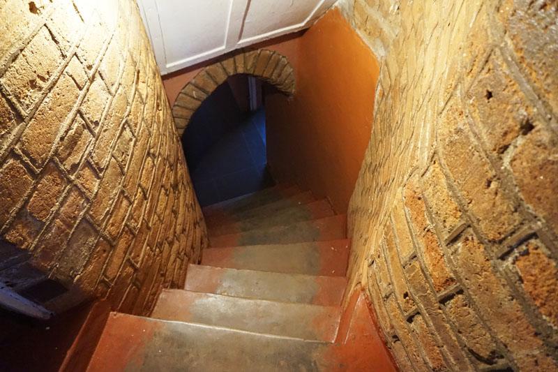 Lundazi Castle staircase