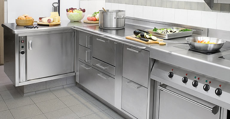 Modetcnet for Cucine professionali per casa
