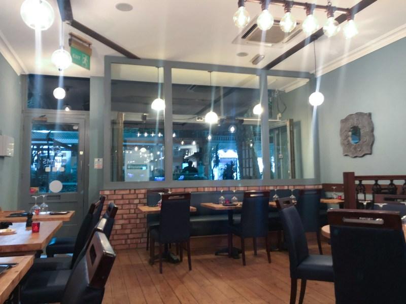 Shams, Lebanese restaurant on Chiswick High Road