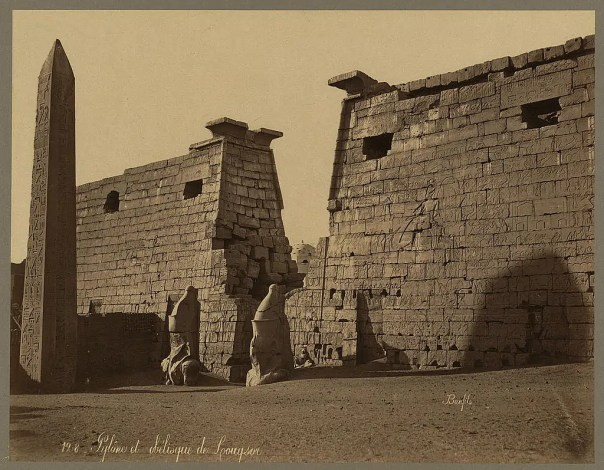 Photos of Ancient Egyptian Monuments More Than 100 Years Ago (19)