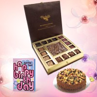 Cake Choco Birthday Combination