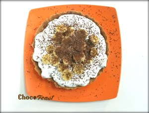 Banoffee Pie from our desserts Class