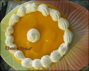 Fresh fruit cheesecake at Chocofeast by Sunita