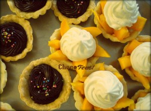 Varieties of Tarts at Chocofeast