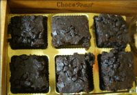 Choco chip Brownies