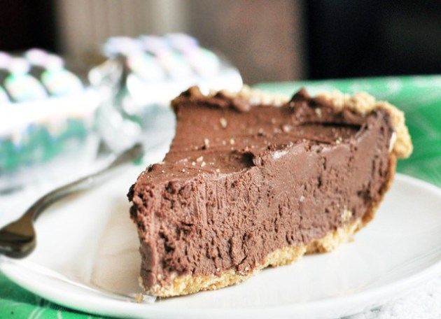 vegan chocolate cream pie