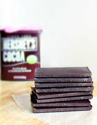 The sky is the limit-- make any flavor chocolate bars you choose! Full recipe: http://chocolatecoveredkatie.com/2012/01/15/three-ingredient-chocolate-bars-1/