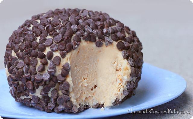 Peanut Butter Chocolate Chip Cheeseball
