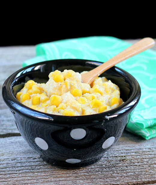 healthy corn casserole