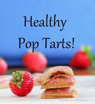 Healthy Pop Tarts- with lots of different flavor ideas!
