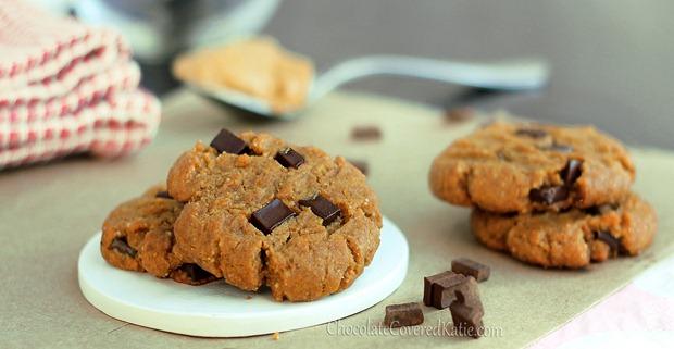 healthy peanut butter cookies 1
