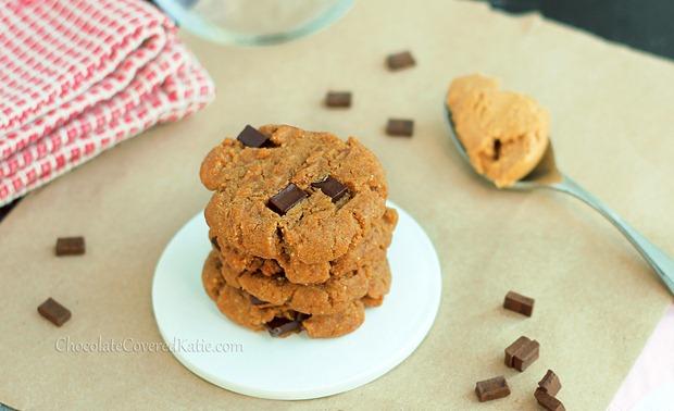 peanut butter gingerbread cookies