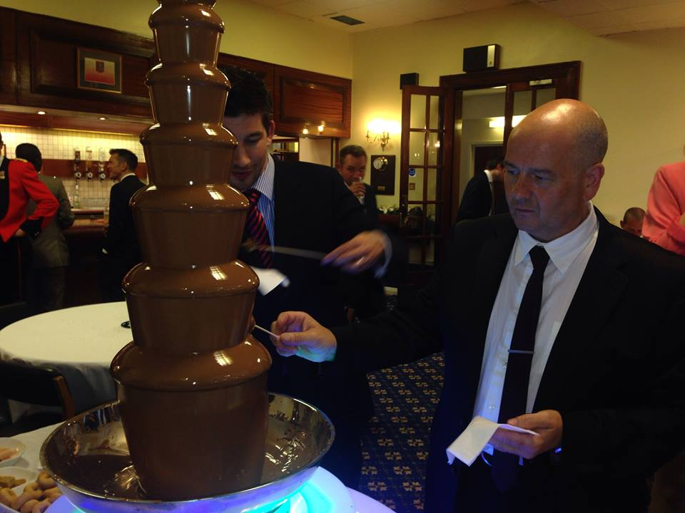 Rent a chocolate fountain
