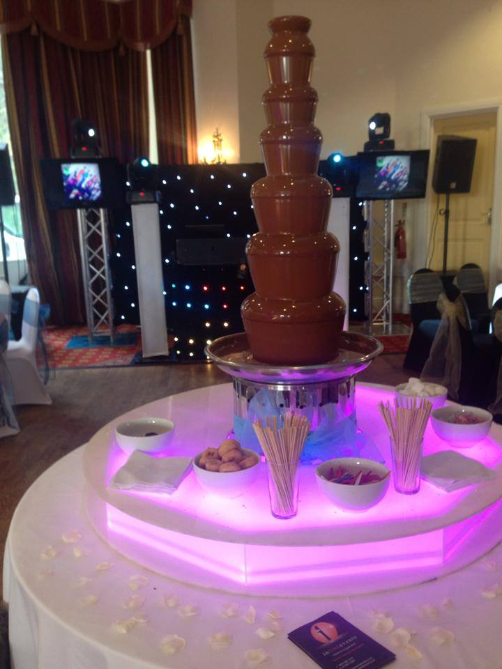 lovely 7 tiers CFO commercial chocolate fountain