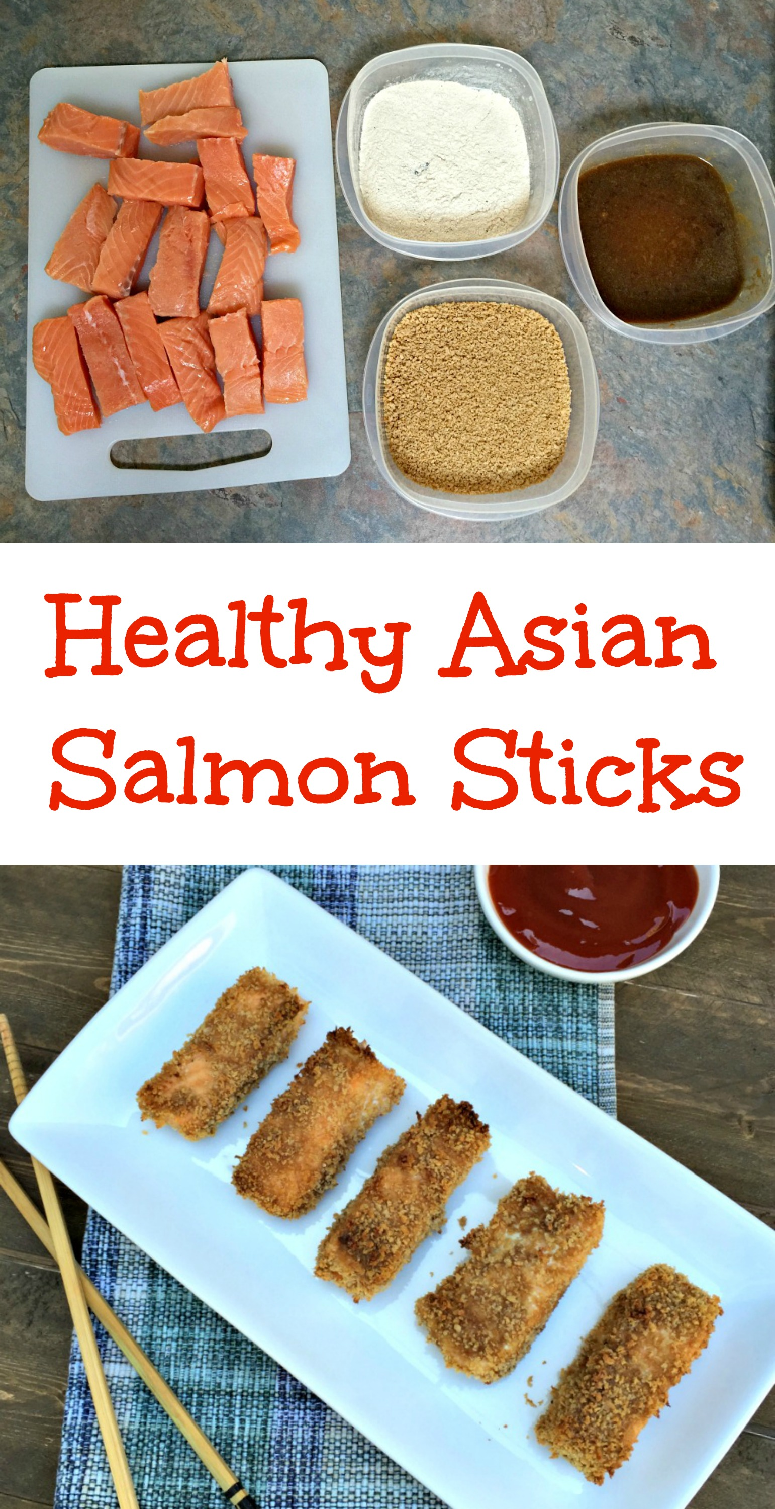 Healthy asian salmon sticks chocolate slopes for Healthy fish sticks