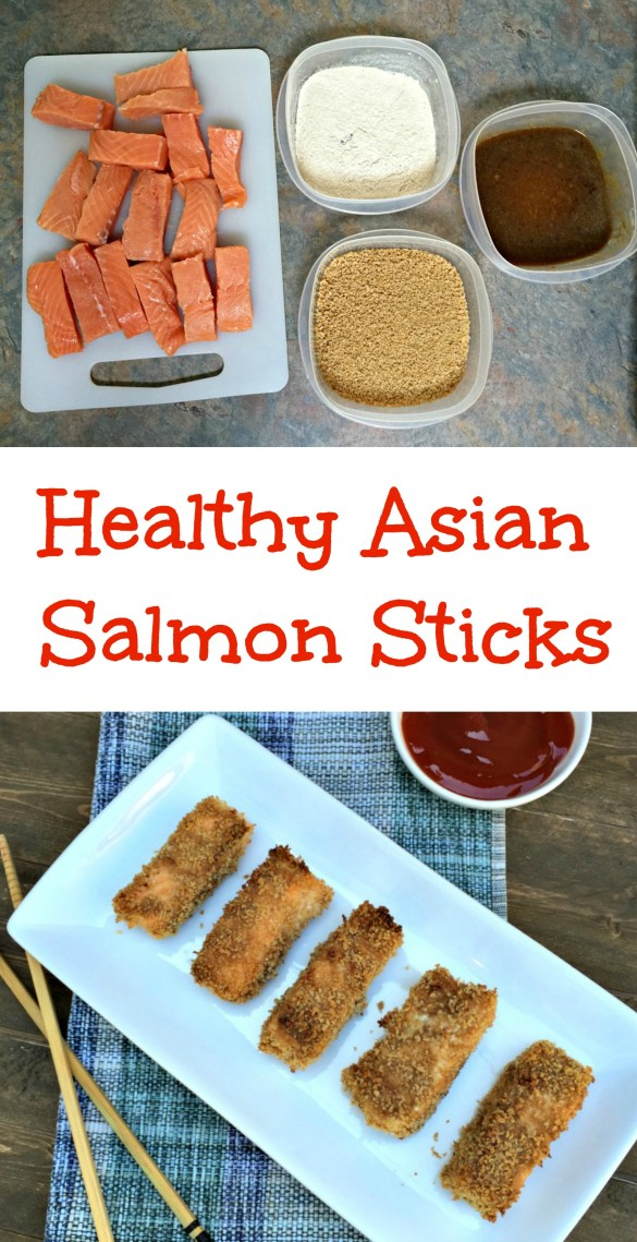 Healthy asian salmon sticks chocolate slopes for Salmon fish sticks