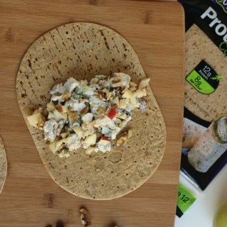 chicken-apple-cranberry-salad-wraps
