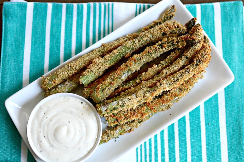 Baked Parmesan Asparagus Fries [and Asparagus Tour]