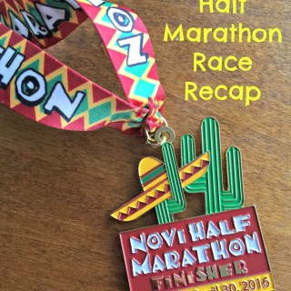 novi half marathon race recap