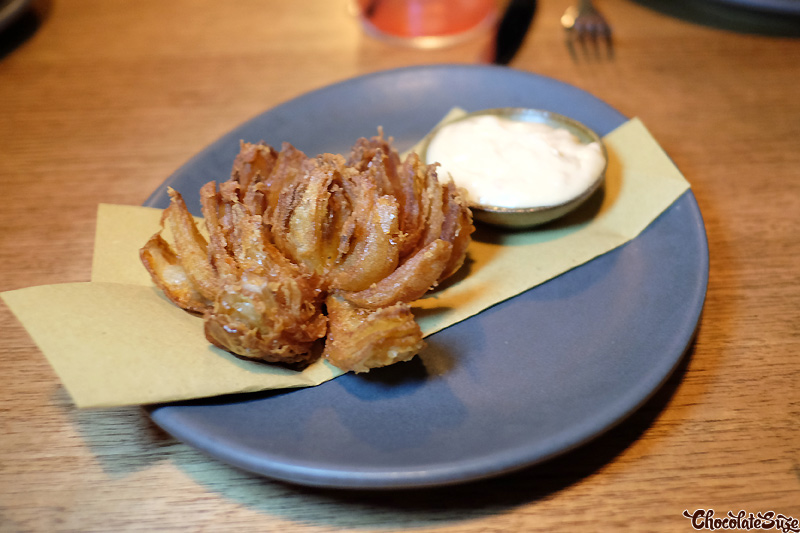 Blooming onion at Bar Brosé, Darlinghurst