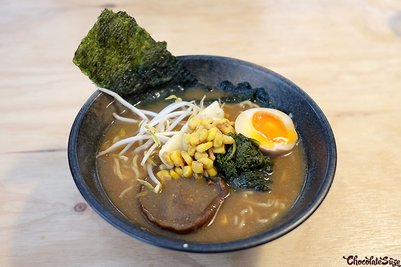 The Monk ramen at Rising Sun Workshop, Newtown